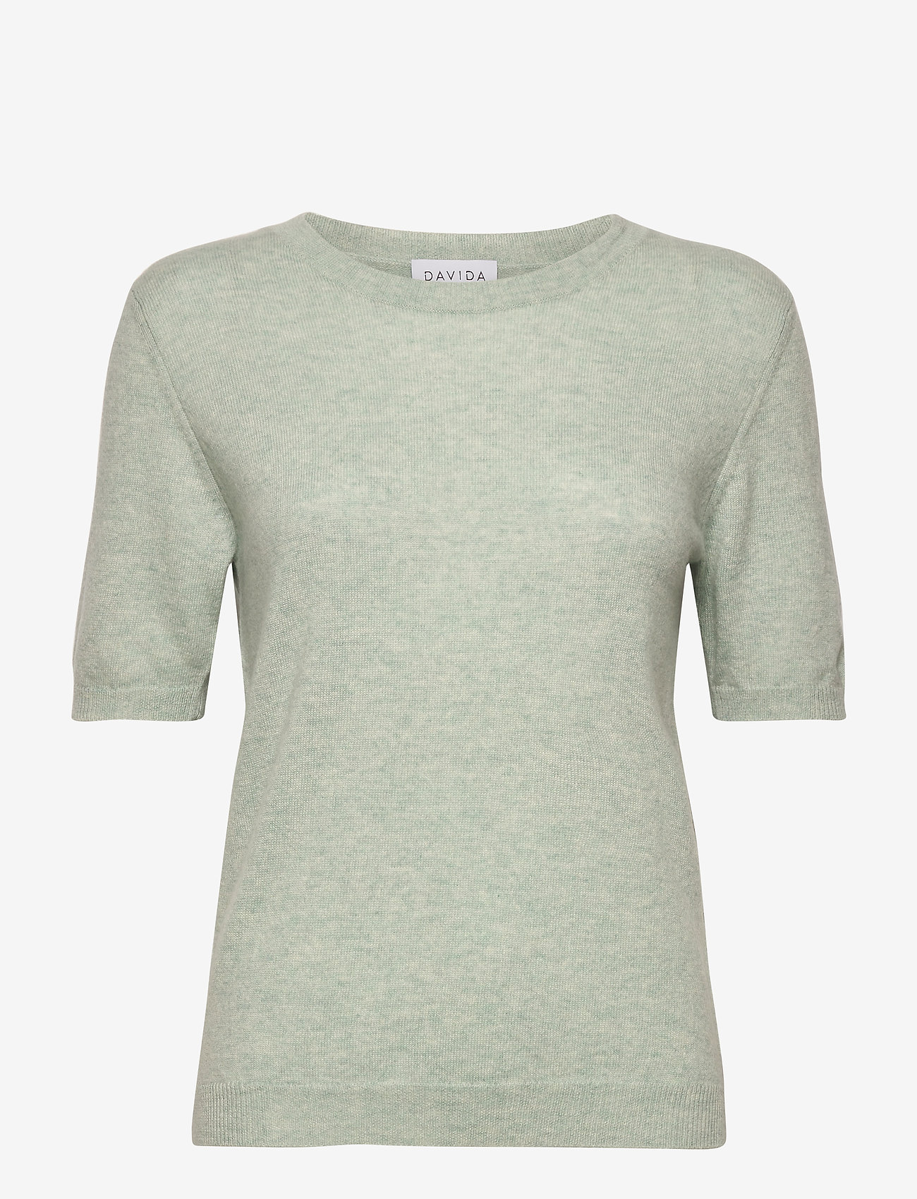 Davida Cashmere - T-shirt Oversized - gebreide t-shirts - light green - 0