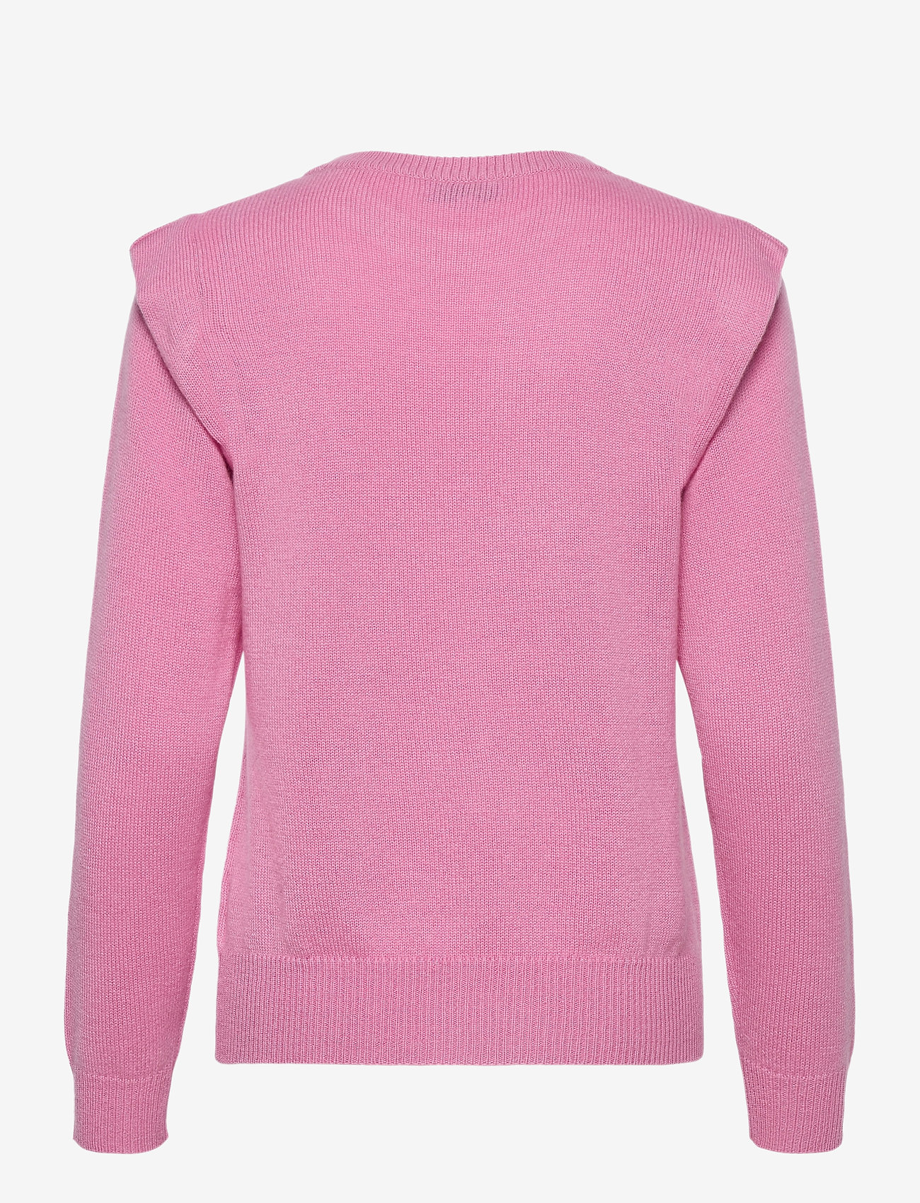 Davida Cashmere - Shoulder Fold Sweater - sweaters - rose pink - 1