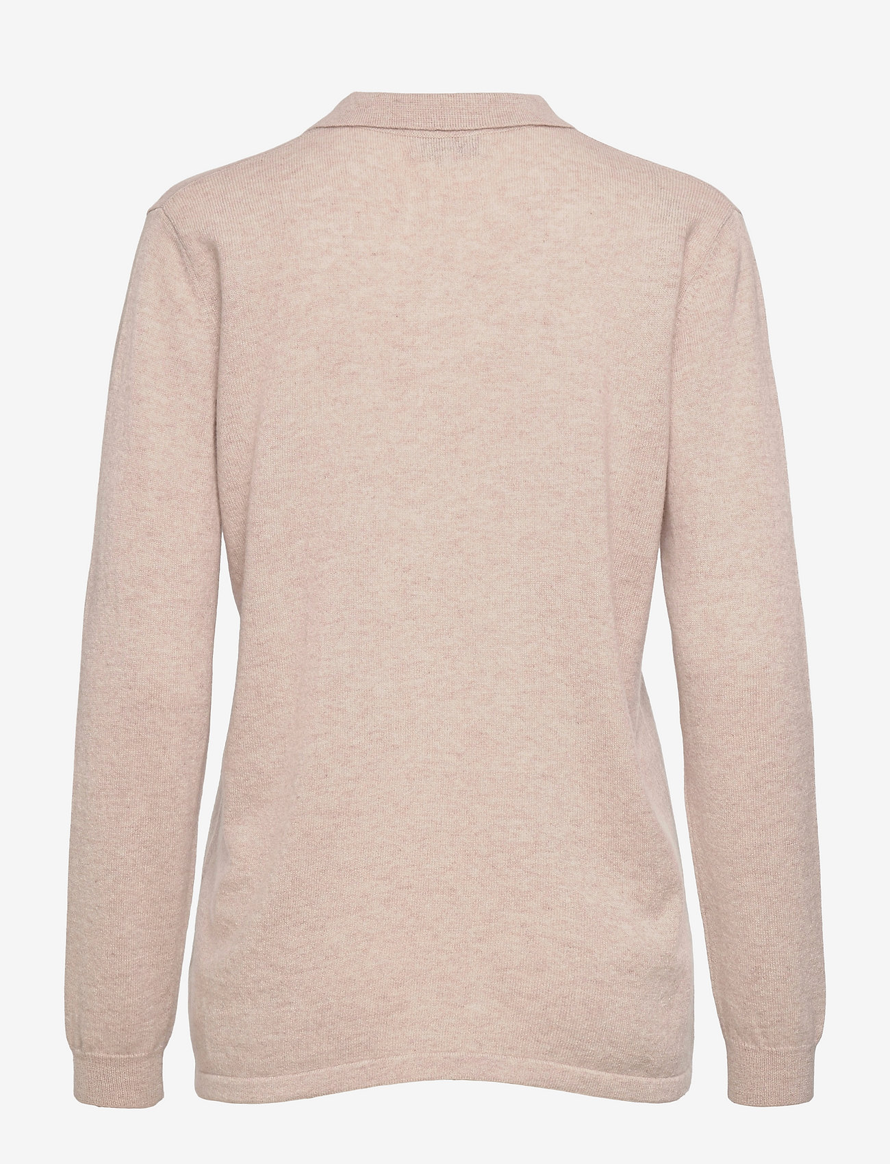Davida Cashmere - Classic Pocket Shirt - denim shirts - light beige - 1