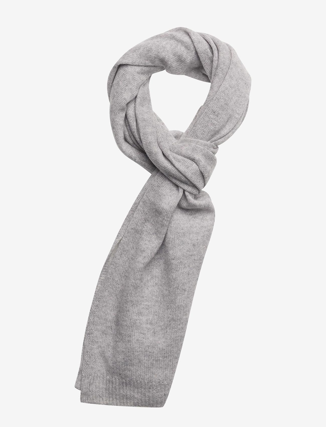 Davida Cashmere - Rectangular Scarf - winter scarves - light grey - 0