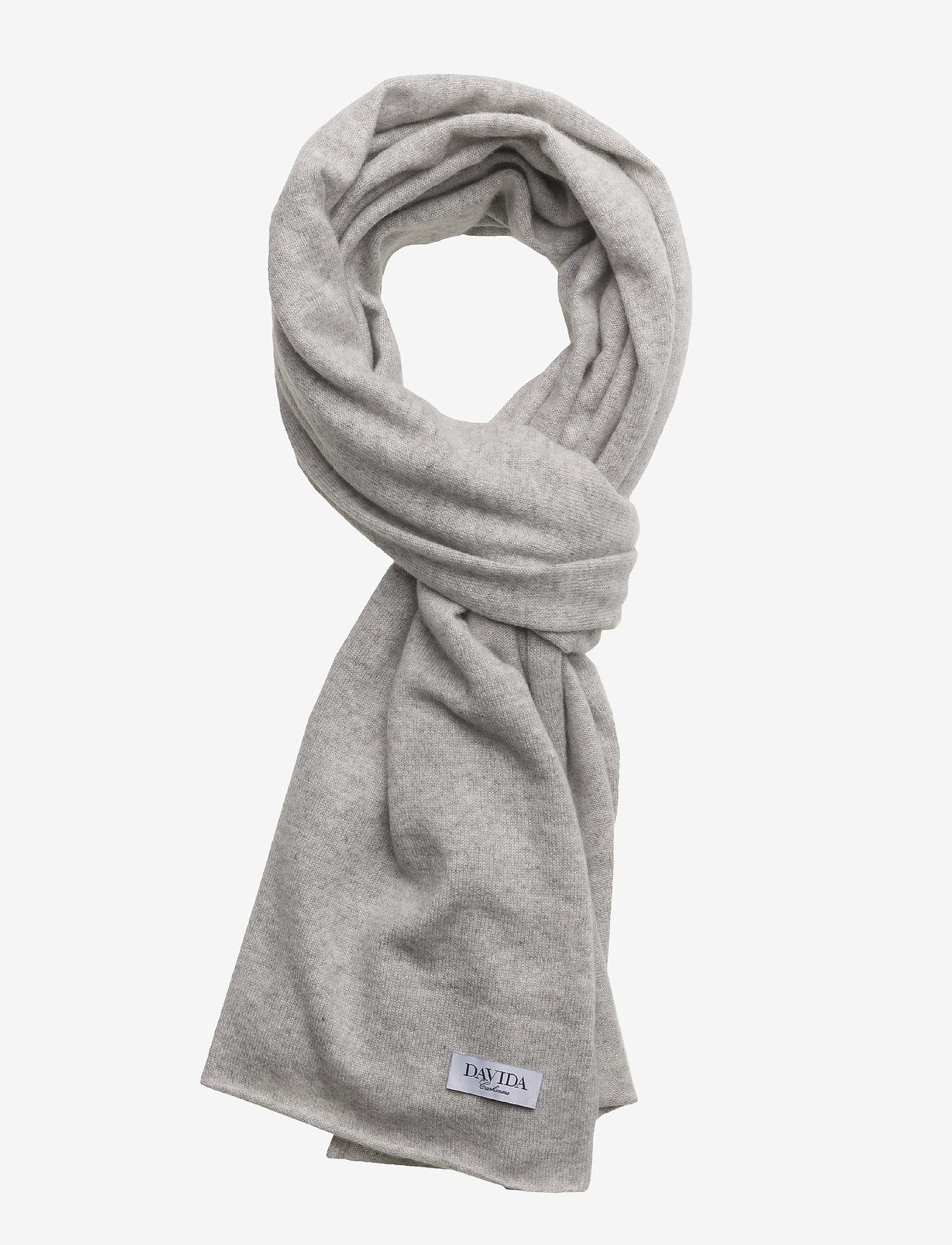 Davida Cashmere - Big Classic Scarf - scarves - light grey - 1