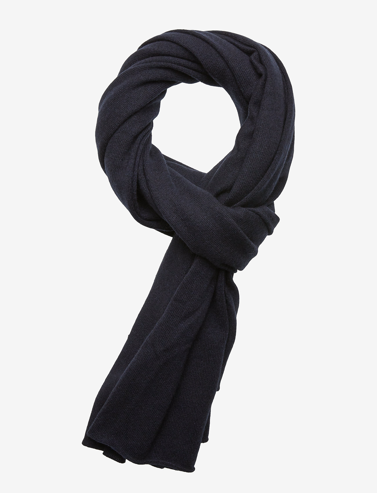 Davida Cashmere - Big Classic Scarf - scarves - navy - 0