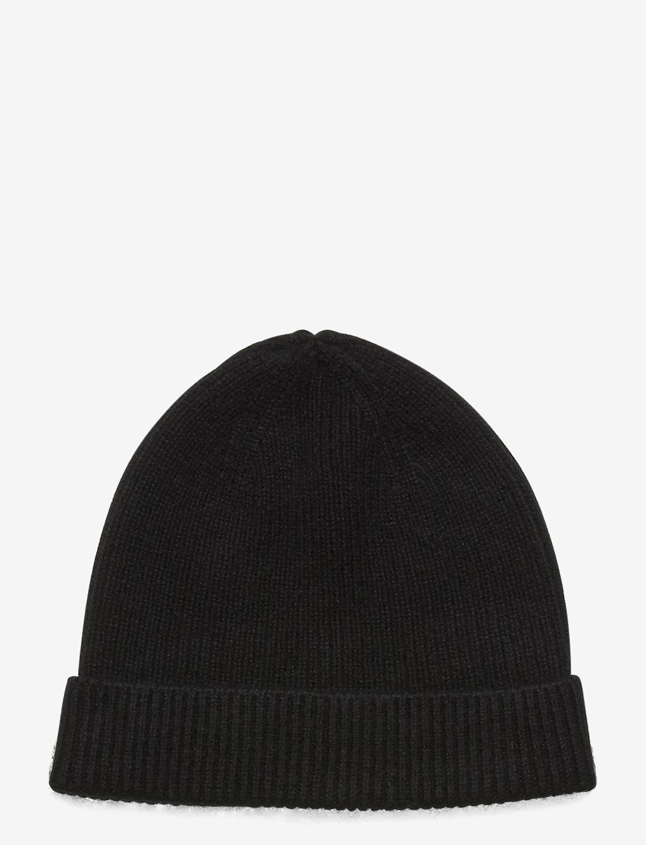 Davida Cashmere - Cap Rib - czapka - black - 0