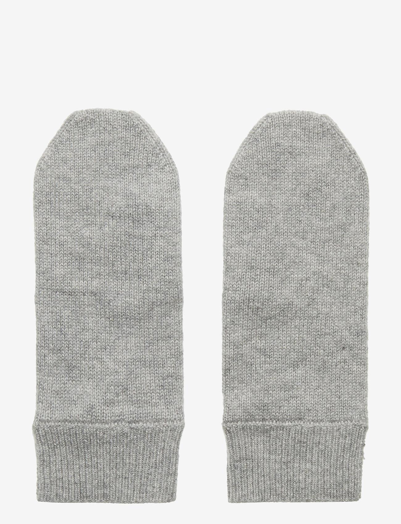 Davida Cashmere - Mittens - accessories - light grey - 0