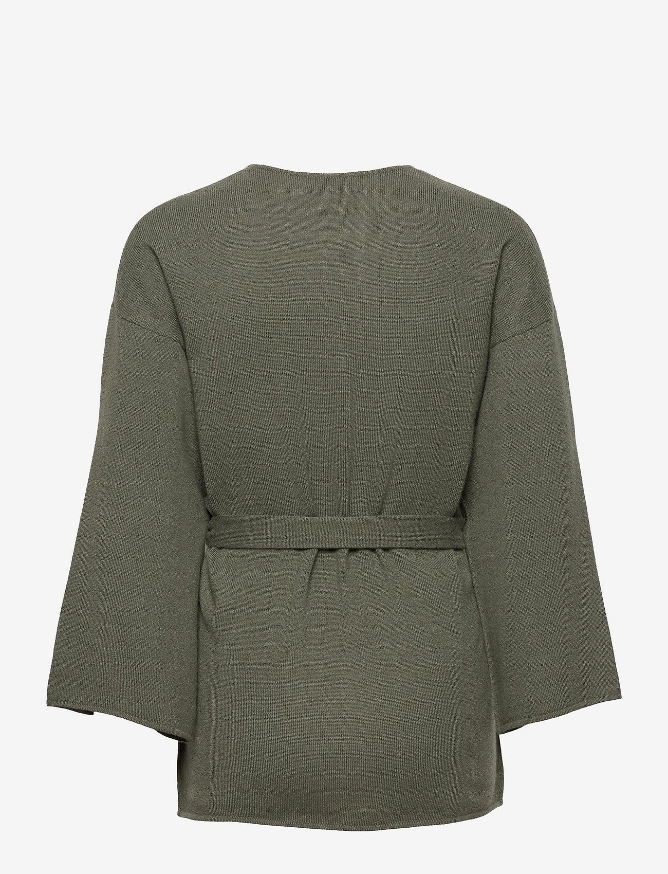 Davida Cashmere - Kimono - cardigans - army green - 1