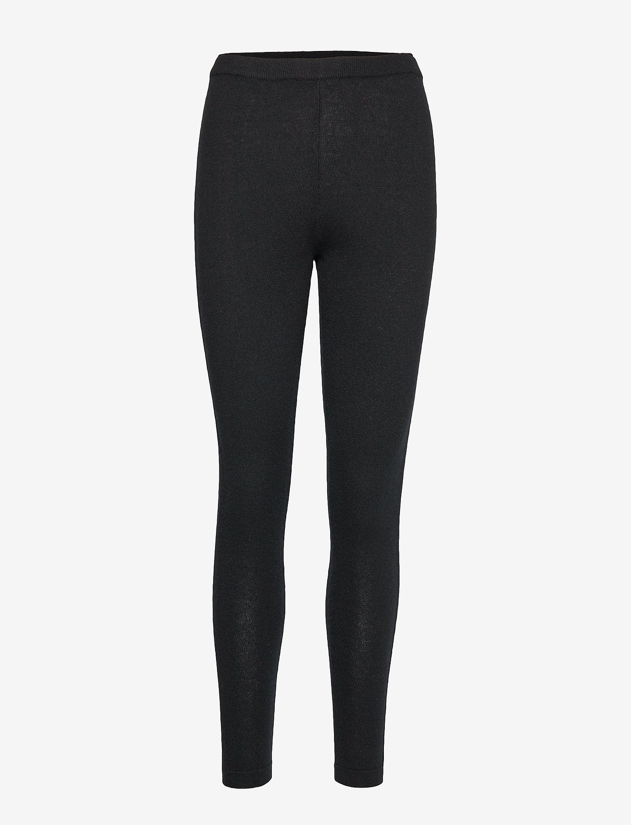 Davida Cashmere - Panel Leggings - leggings - black - 0