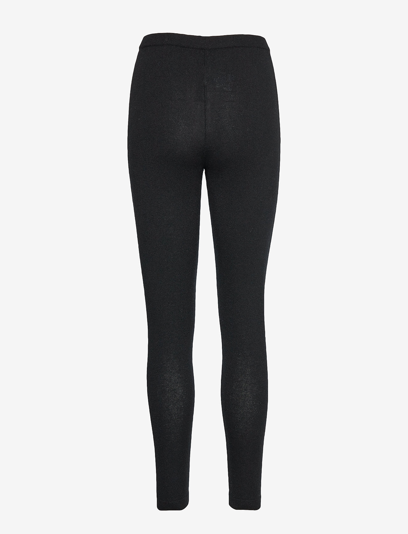 Davida Cashmere - Panel Leggings - leggings - black - 1