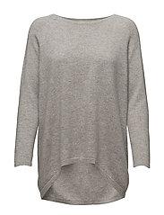 Loose Sweater - LIGHT GREY
