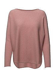 Curved Sweater - DUSTY PINK