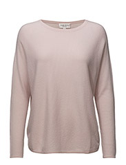 Curved Sweater - LIGHT PINK