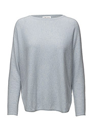 Curved Sweater - LIGHT BLUE