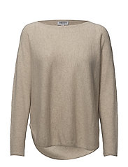 Davida Cashmere - Curved Sweater