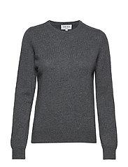 Basic sweater - DARK GREY