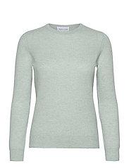 Basic sweater - LIGHT GREEN