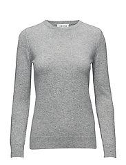 Basic sweater - LIGHT GREY