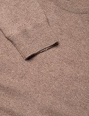 Davida Cashmere - Basic sweater - sweaters - mink - 3