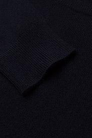 Davida Cashmere - Basic Sweater - sweaters - navy - 3