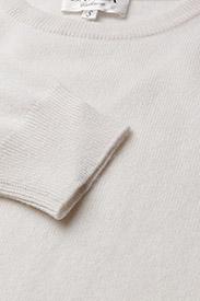 Davida Cashmere - Basic sweater - sweaters - white - 2