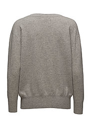 Boatneck Sweater - LIGHT GREY