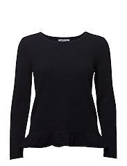 Sweater Flounce - NAVY