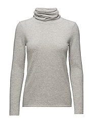Loose Turtleneck - LIGHT GREY