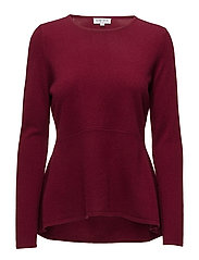 Davida Cashmere - Cut Long Sleeve Sweater
