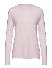 Semipolo Slit Sweater - LIGHT PINK