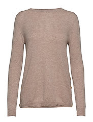 Side Buttons Sweater - SAND