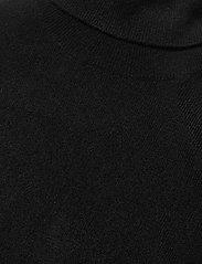 Davida Cashmere - Turtleneck T-shirt - knitted tops - black - 2
