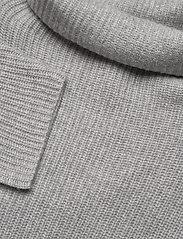 Davida Cashmere - Oversized Rib Sweater - turtlenecks - light grey - 3