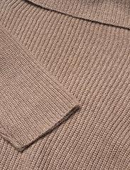Davida Cashmere - Oversized Rib Sweater - cashmere - mink - 2