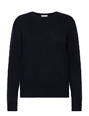 Dotted Sweater - NAVY
