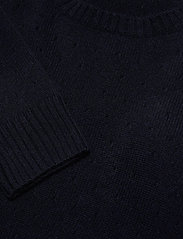 Davida Cashmere - Dotted Sweater - sweaters - navy - 2