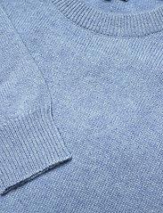 Davida Cashmere - Shoulder Fold Sweater - sweaters - dusty light blue - 2