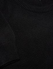Davida Cashmere - Volume Sleeve Sweater - sweaters - black - 2