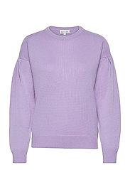 Volume Sleeve Sweater - LAVENDER