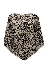 Leopard Poncho - ANIMAL LIGHT