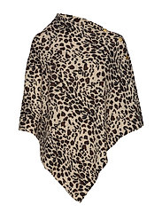 Poncho with Gold Buttons - ANIMAL LIGHT