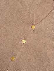 Davida Cashmere - Poncho Gold Buttons - kaszmir - mink - 2
