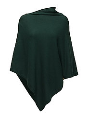Davida Cashmere - Poncho With Gold Buttons