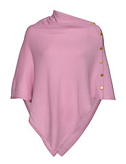 Poncho Gold Buttons - PINK
