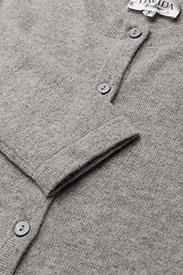 Davida Cashmere - Classic Cardigan - cardigans - light grey - 2
