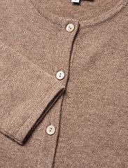Davida Cashmere - Classic Cardigan - cardigans - mink - 2