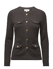 Jacket - DARK BROWN