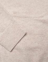 Davida Cashmere - Pocket Long Cardigan - cardigans - light beige - 3