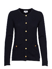 Cardigan Gold Buttons - NAVY