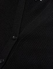 Davida Cashmere - Buttoned Vest - knitted vests - black - 2