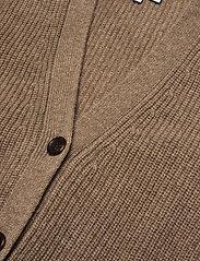 Davida Cashmere - Buttoned Vest - knitted vests - mink - 2