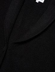 Davida Cashmere - Shawl Collar Jacket - cardigans - black - 2