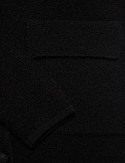 Davida Cashmere - Shawl Collar Jacket - cardigans - black - 3